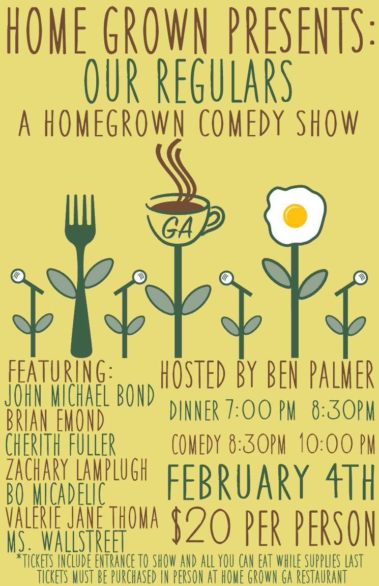 A Home grown Comedy Show