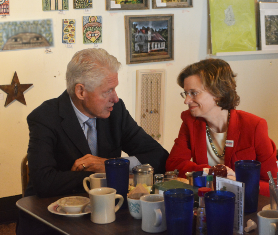Bill Clinton, Michelle Nunn