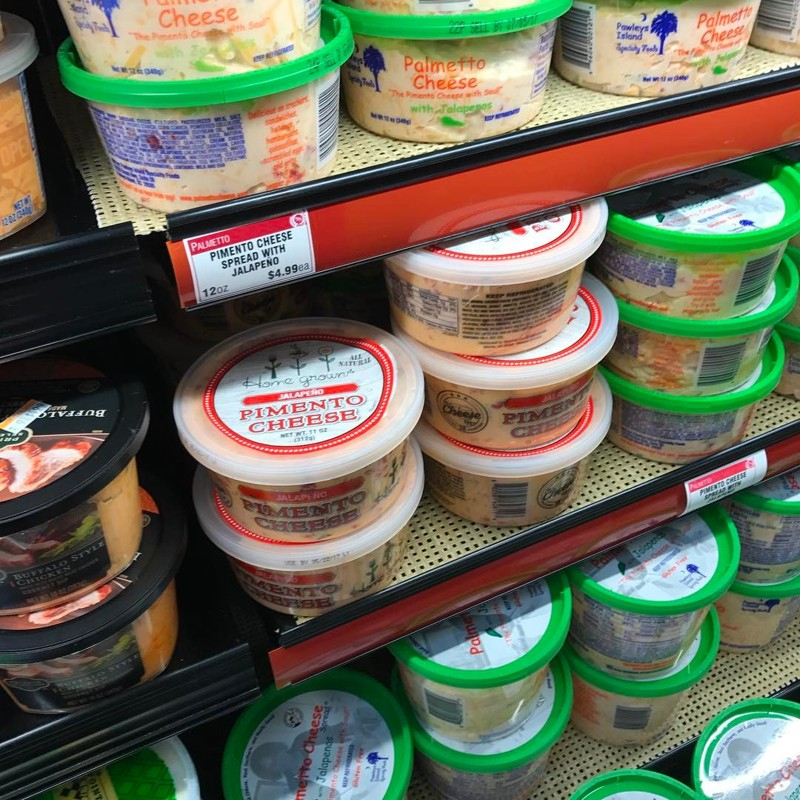 Home grown pimento cheese at Kroger